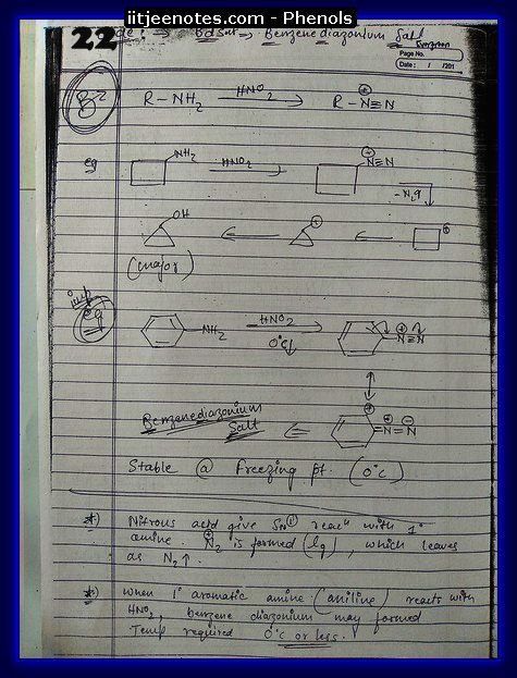 Phenol Notes 8