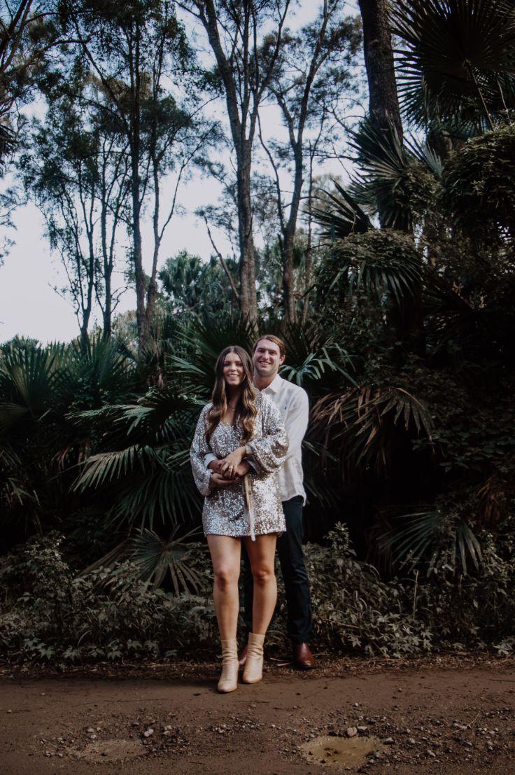 luna wilde photography hipster bride groom hair makeup boho floral design