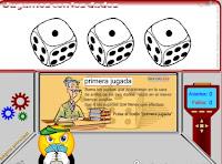 http://www3.gobiernodecanarias.org/medusa/eltanquematematico/dados/dados_p.html