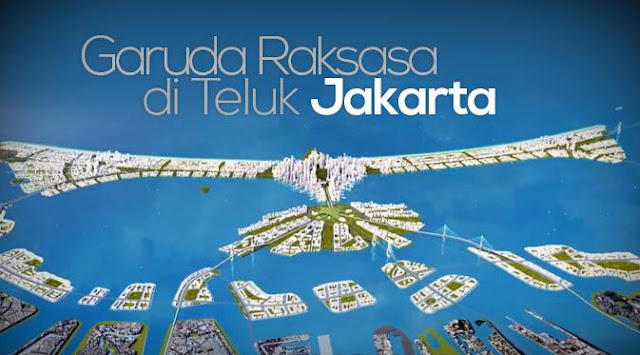 Lanjutkan Reklamasi Teluk Jakarta, Jokowi Kenalkan Proyek Garuda