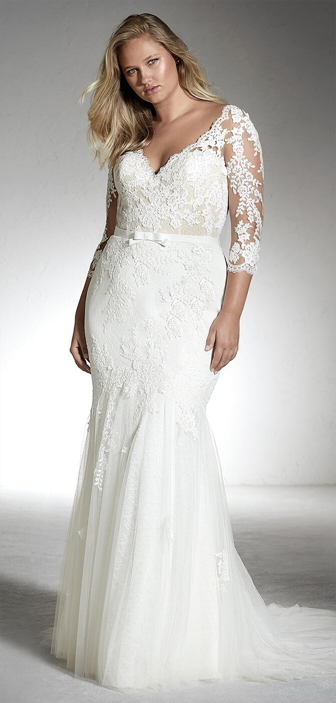 Latest Plus Size Wedding Gowns 2018