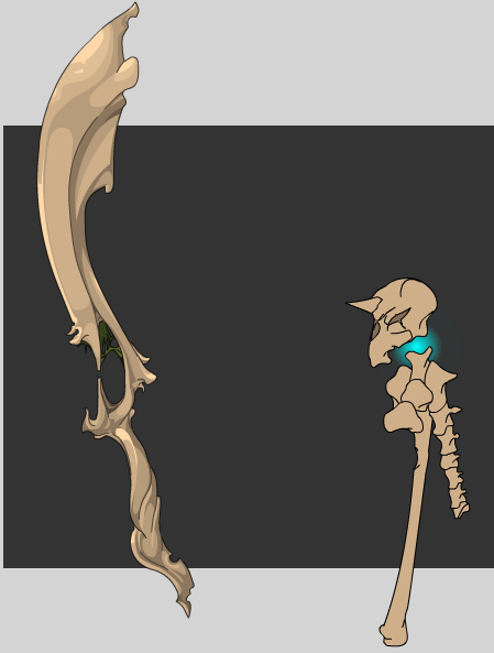 AQW Daily: Bone Staff + Bone Sword