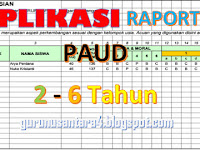 Download Aplikasi Raport PAUD Terbaru