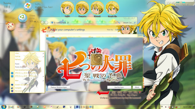 Nanatsu no Taizai Theme Win 7 by Enji Riz Lazuardi