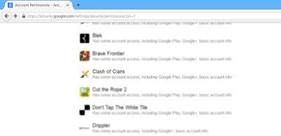 Cara Menghapus Clash of Clans dari Akun Google