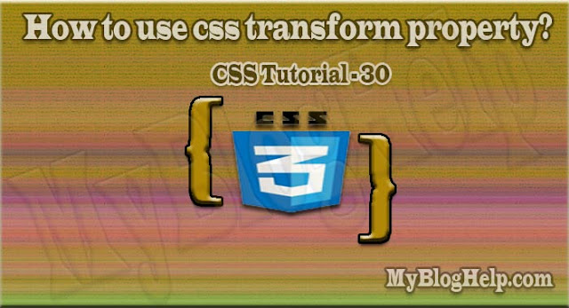 css transform property