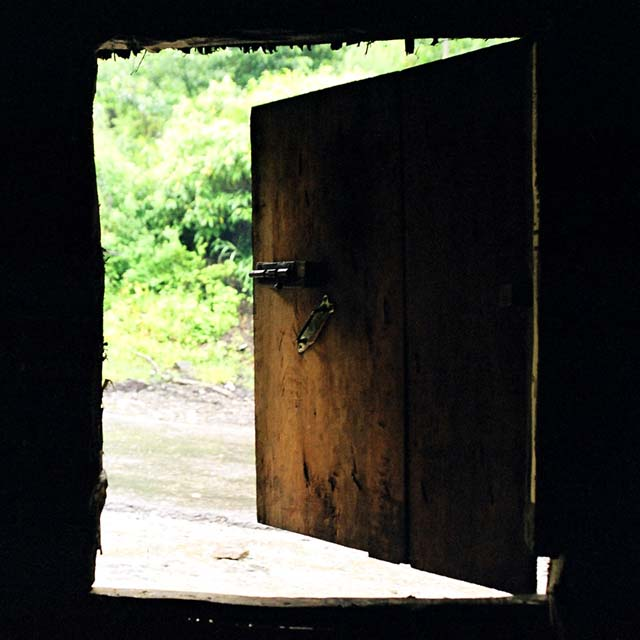 back door dhaba bomdila arunachal pradesh india silhouette
