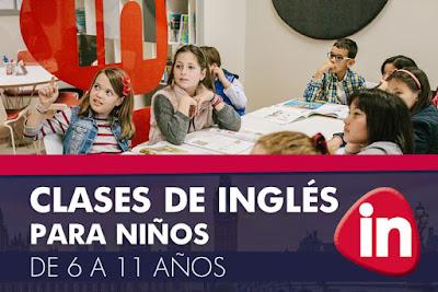 Inglés para niños en Zaragoza
