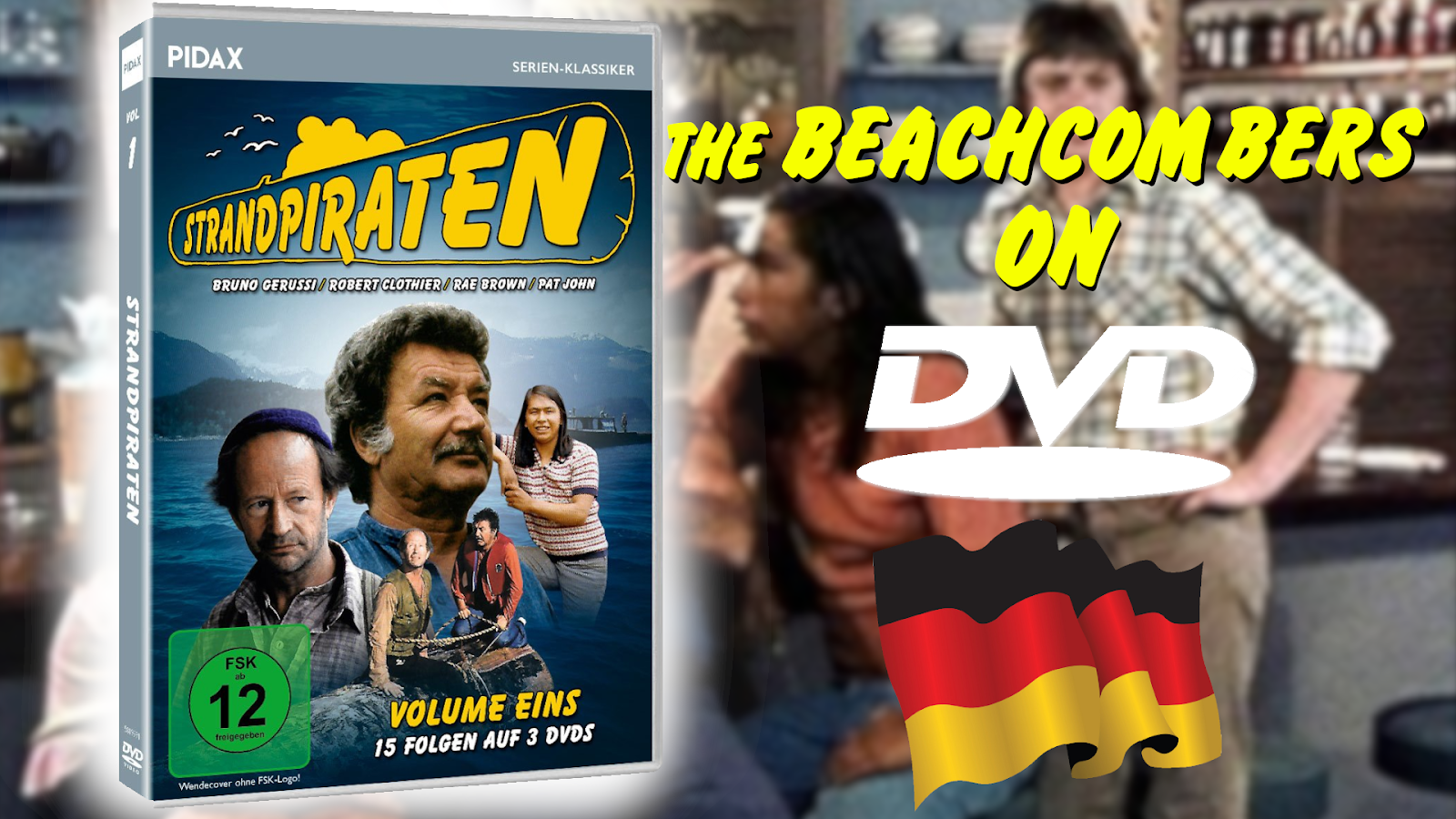 The Beachcombers (was supposed to be) On DVD (In Germany)