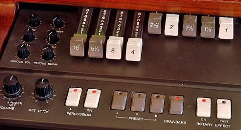 Korg CX3 analogue organ