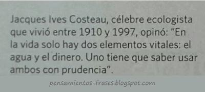 frases de Jacques-Yves Cousteau