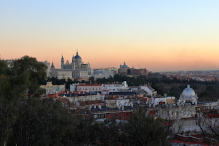 Panorama dal Parque del Oeste