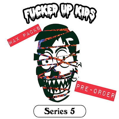 F*ked Up Kids Trading Card Wax Packs Series 5 by RenOne