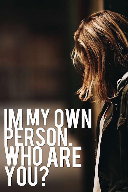 Be Your Own Person.