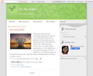 Tic Tac Green Theme