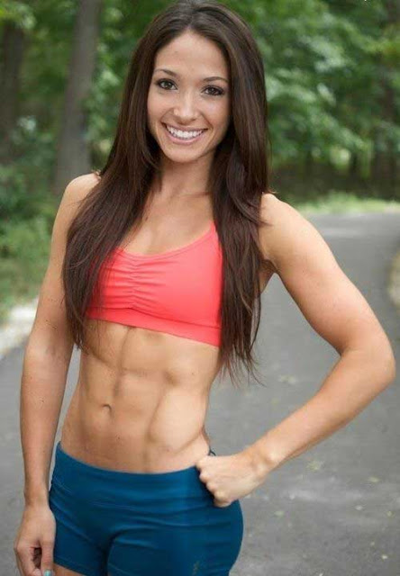 Girl With Abs