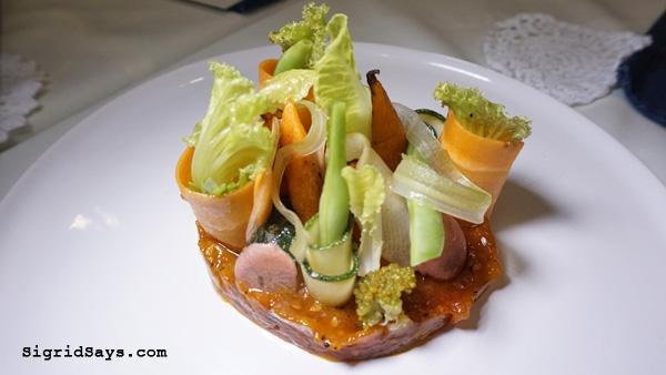 Anne Bistro - Bacolod restaurant - Bistro salad