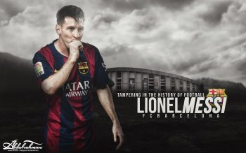 Wallpaper: Football Player Lionel Messi
