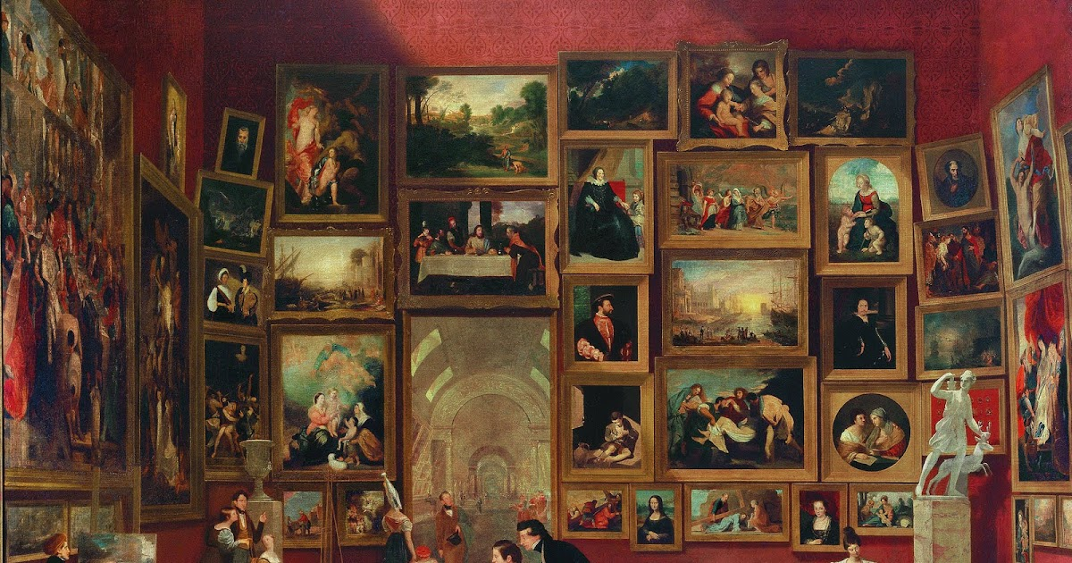 art history news samuel f b morse s gallery of the louvre and the art of invention 2