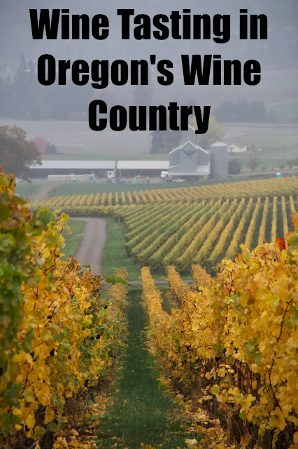 Wine Tasting In Oregon's Wine Country