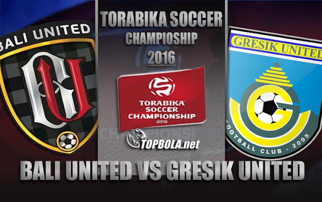 Bali United vs Gresik United