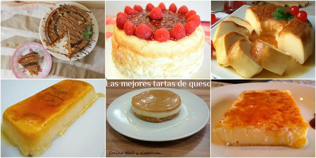 6 de las mejores Tartas de queso. Parte II