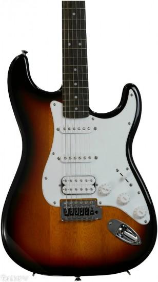 Đàn Guitar Điện Squier Bullet Strat with Tremolo HSS