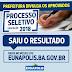 PREFEITURA DE EUNÁPOLIS DIVULGA RESULTADO DO PROCESSO SELETIVO 001/2018