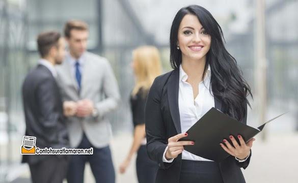 Contoh Surat Lamaran Kerja Sebagai Manager