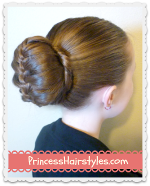 braided bubble bun #updo #hairstyle tutorial