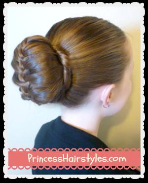 Admirable Braided Bubble Bun Dance Hairstyle Tutorial Hairstyles For Hairstyles For Women Draintrainus