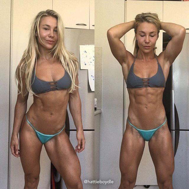Hattie Boydle WBFF PROWBFF Pro Fitness Model Hattie Boydle