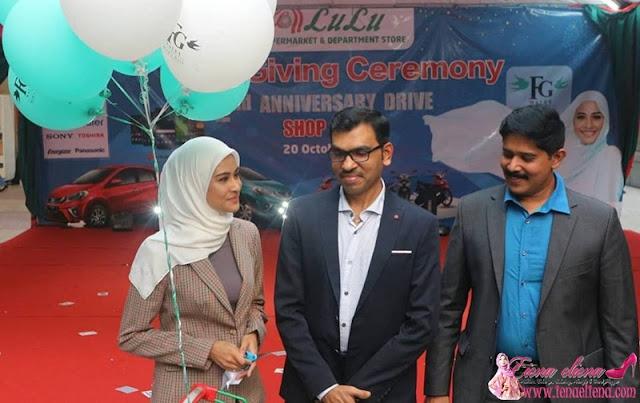 Perasmian Produk FGWalet oleh Datin Hajjah Fouziah Gous di Lulu Hypermarket.