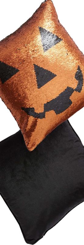 Levtex Pumpkin Sequin Accent Pillow