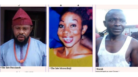 Husband & Wife Killed By Fire At Their Home In Lagos