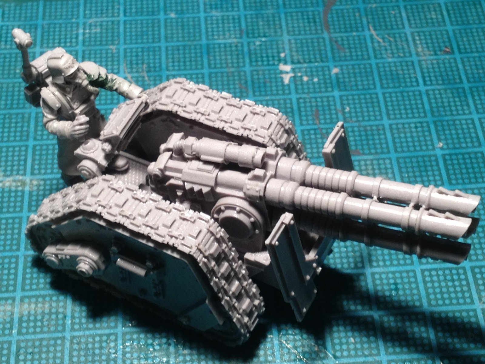 Death Korps of Krieg Rapier Laser Destroyer