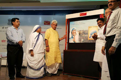 Mother Teresa Canonisation India Post Releases A Stamp On Her