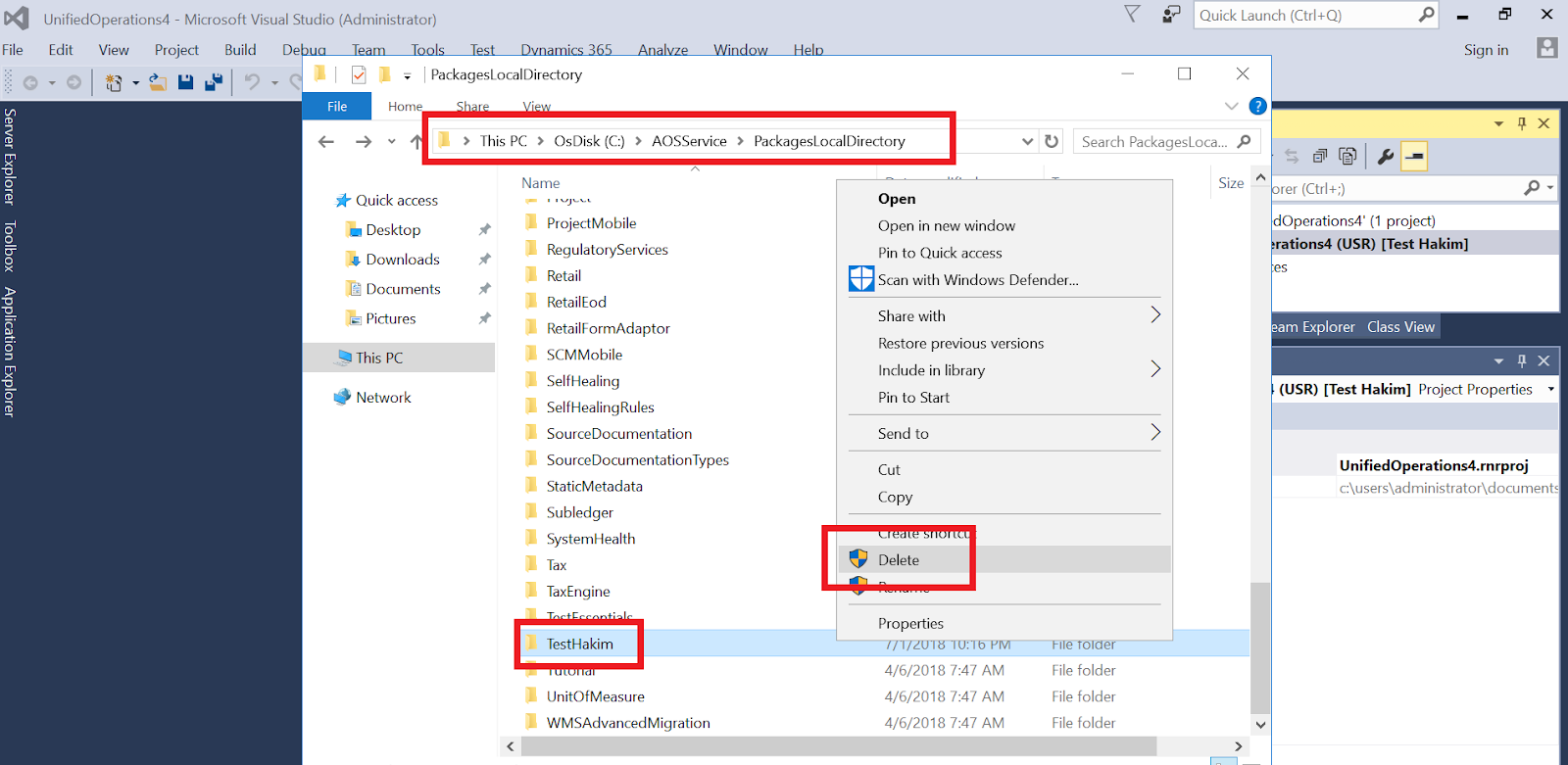 How to delete Model in Dynamics 365? - Finance and Operations Community