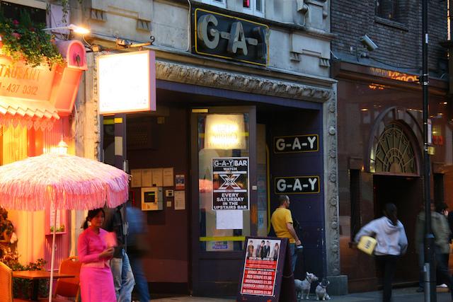 Bares GLS e LGBT em Londres