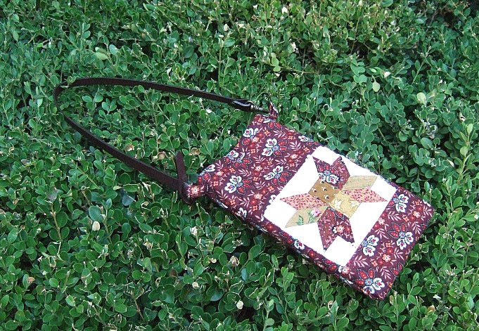 Smartphone quilt bag  / Cell phone bag / beautiful mobile phone bag / mobile phone pouch / small bag / smartphones quilt making bags. Небольшая сумочка Patchwork