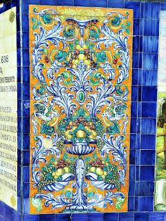 Azulejos Decorativos da Plaza España, Mendoza