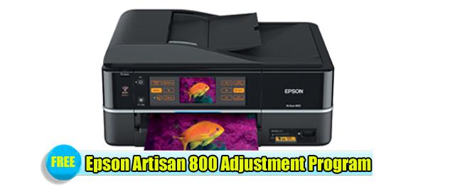Epson Artisan 800 Resetter