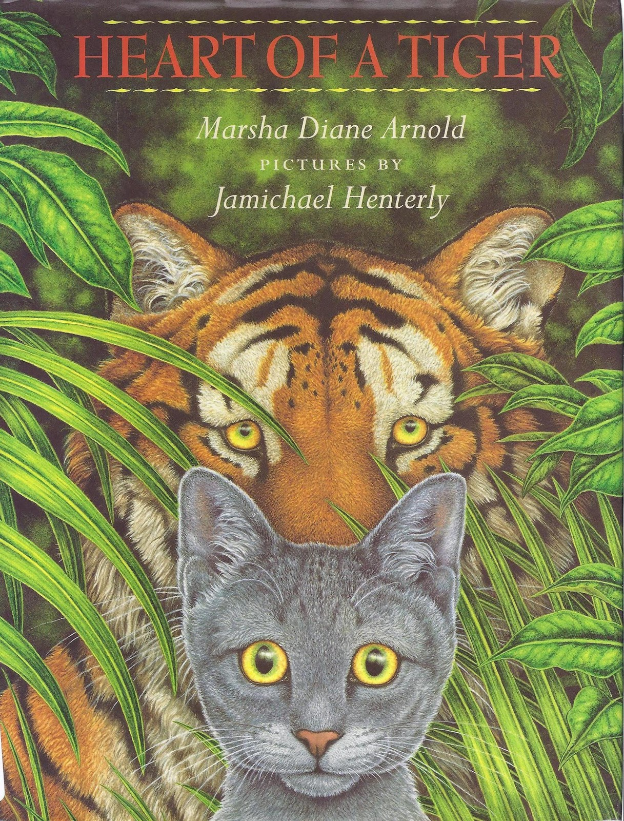 excellent kids 39 books heart of a tiger by marsha diane arnold illustrated by jamichael henterly. Black Bedroom Furniture Sets. Home Design Ideas