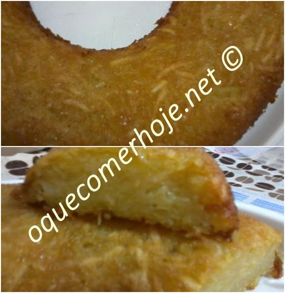 """Bolo de mandioca: """"o melhor bolo de mandioca do mundo"""""""