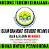 Jawatan Kosong Majlis Agama Islam Dan Adat Istiadat Melayu Perlis (MAIPs) - 13 Disember 2016