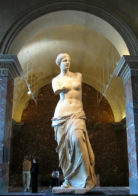 In the mode of marcella lally: Venus de Milo