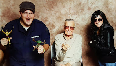 The husband and I with Stan Lee at Cincinnati Comic Expo (2016)