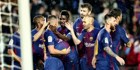 Match Results Barcelona vs Sevilla: 2-1