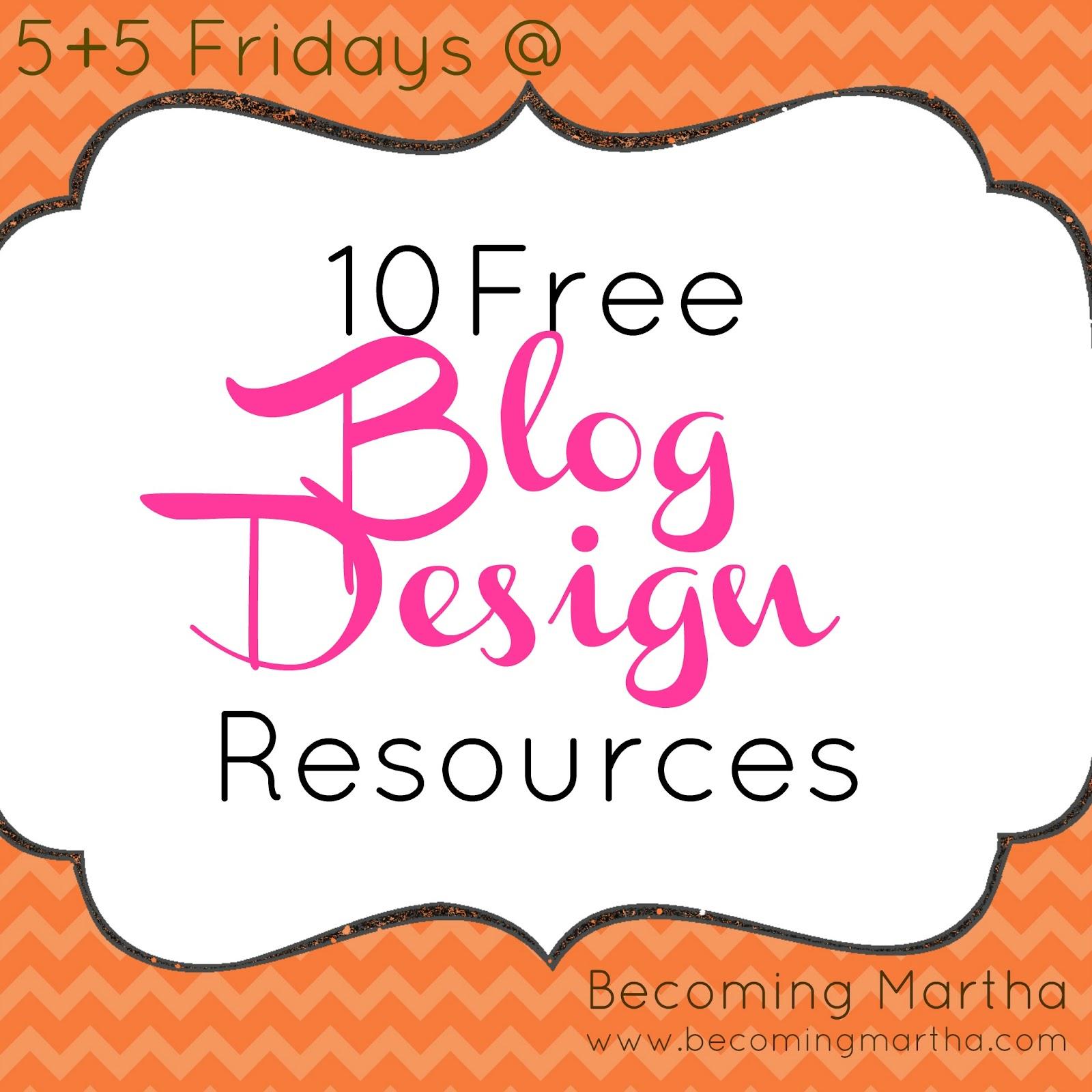 5 5 friday 10 free blog design sites becoming martha