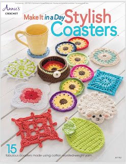 Annie's Crochet Make It in a Day Stylish Coasters